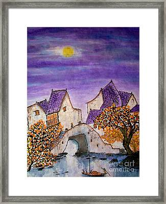 Going Home... Framed Print by Katy Mei