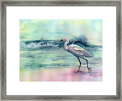 Going Home Framed Print by Maria's Watercolor