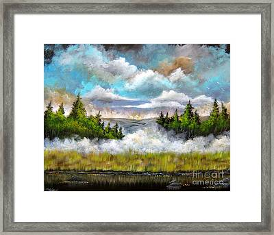 Going Home Framed Print by Patrice Torrillo