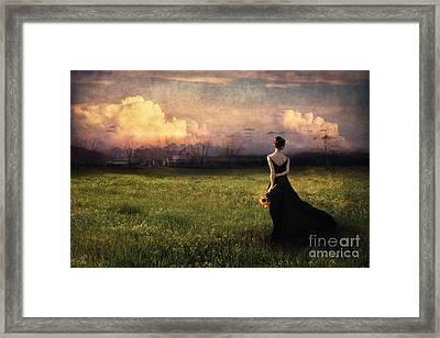 Going Home Framed Print by Spokenin RED