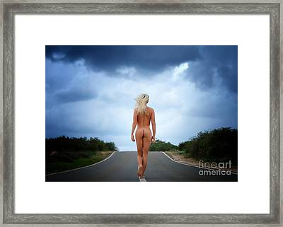 Going Home  Framed Print by Stelios Kleanthous