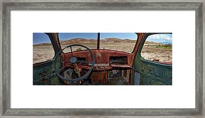 Going Nowhere... Framed Print