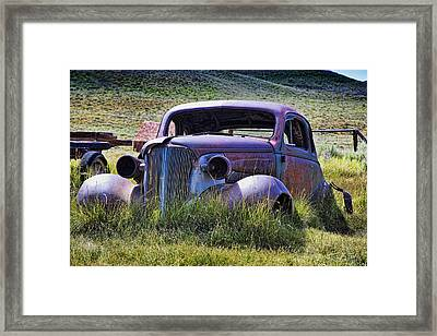 Going Nowhere Framed Print by Kelley King