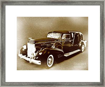 Going Out In Style Framed Print by John Malone