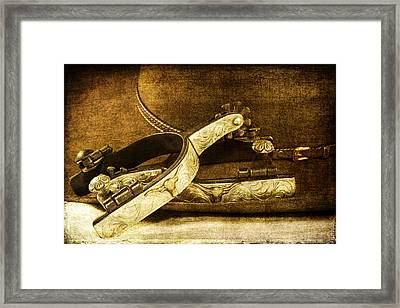 Going Out On The Town Framed Print