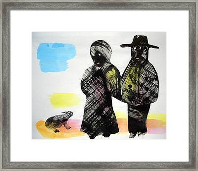 Going Out To The Theater Framed Print by Aquira Kusume