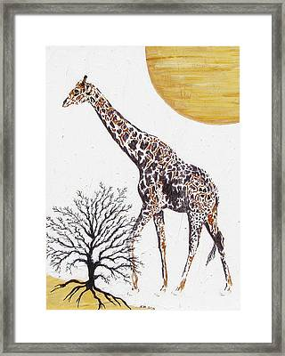 Framed Print featuring the painting Going Solo by Stephanie Grant