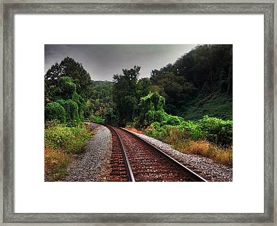 Going Somewhere Framed Print by Janice Spivey