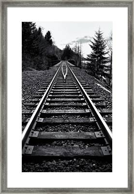 Going The Distance Framed Print