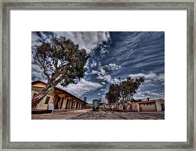 Going To Jerusalem Framed Print by Ron Shoshani