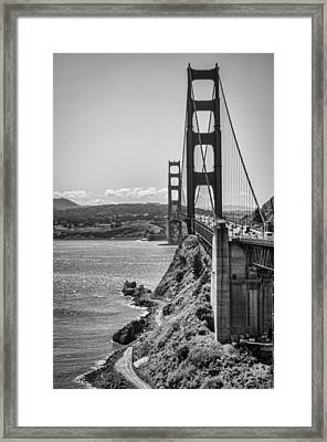 Going To San Francisco Framed Print by Heather Applegate