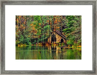 Going To The Chapel  Framed Print
