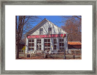 Going To The Store Framed Print by Thomas Sellberg