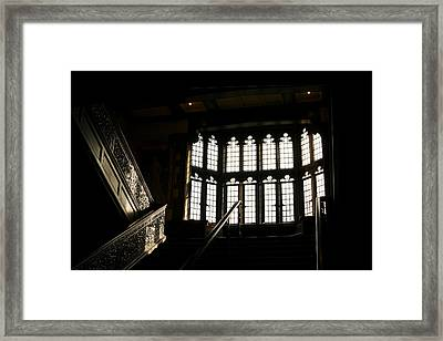 Going Up  Framed Print by Eugene Bergeron