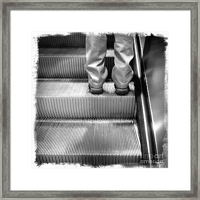 Going Up Framed Print by James Aiken