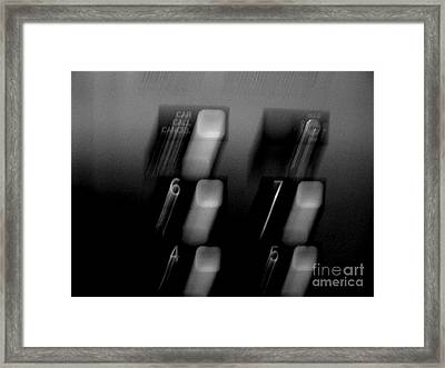 Going Up Framed Print by Lin Haring