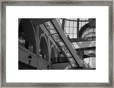 Going Up Framed Print by Maeve O Connell