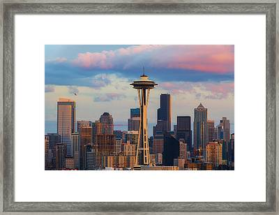 Going Up Framed Print by Ryan Manuel