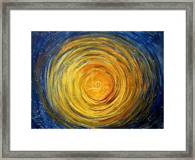 Going Within Framed Print by Janelle Schneider