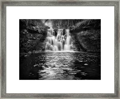 Goistock Water Falls Framed Print by Ian Barber