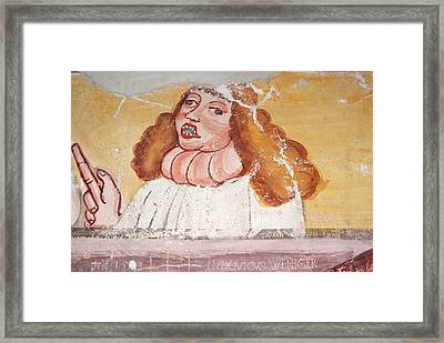 Goitre Framed Print by Dr Rob Stepney