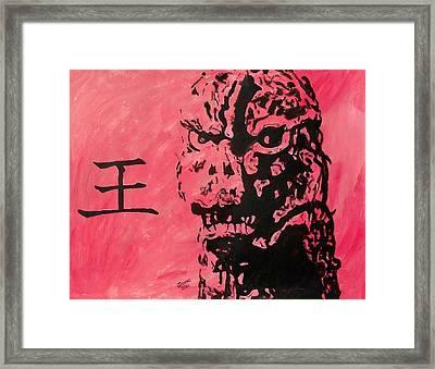 Gojira Framed Print by Jeremy Moore