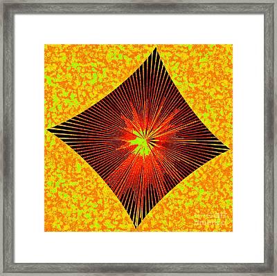 Gold Blood Framed Print