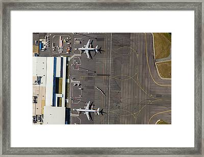 Gold Coast Airport Ool Framed Print by Brett Price