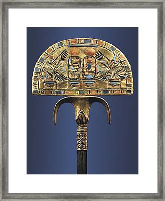 Gold Fan. 1333 Bc. Originally Framed Print by Everett