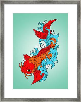 Gold Fish 3 Framed Print