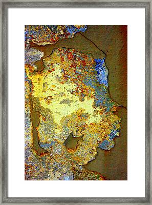 Gold Is Beautiful Framed Print by Marcia Lee Jones