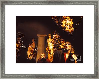 Framed Print featuring the photograph Gold Mars by Steven Macanka
