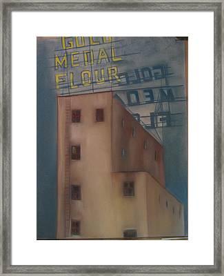 Gold Medal Flour Framed Print