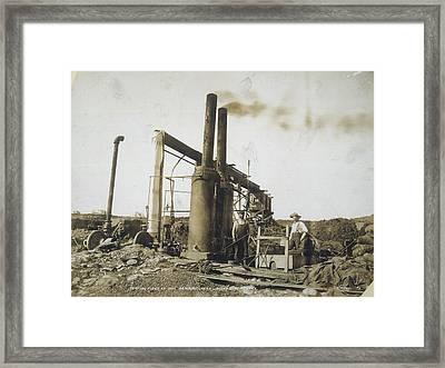 Gold Mine, Alaska, C1898 Framed Print