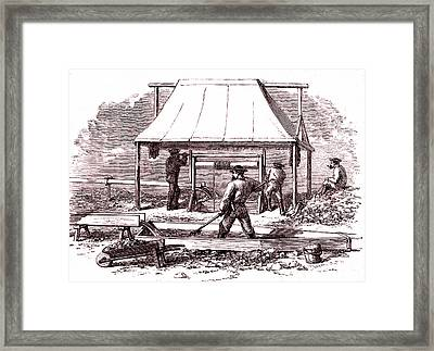Gold Miners Framed Print