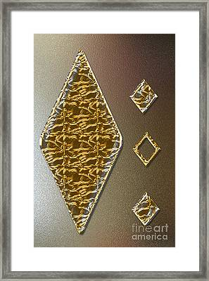 Gold On Copper Framed Print by Tina M Wenger