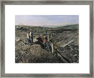 Gold Prospectors, C1897 Framed Print