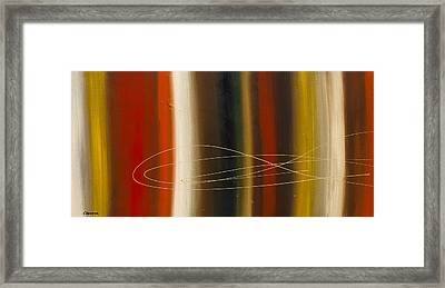 Gold Rush Framed Print by Carmen Guedez