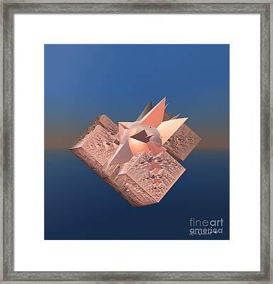Gold Rush Framed Print by Leona Arsenault