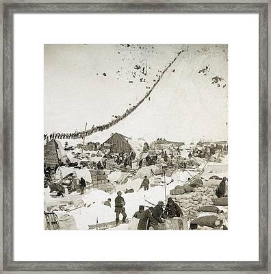 Gold Rush The Klondike Framed Print