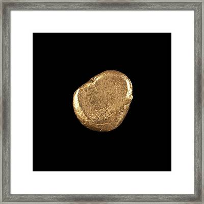 Gold Framed Print by Science Photo Library