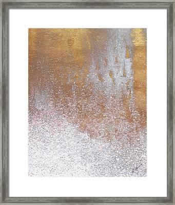 Gold Summer Woods I Framed Print by M. Mercado