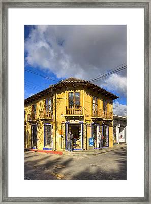 Golden Afternoon In San Cristobal De Las Casas Framed Print by Mark Tisdale