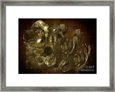 Framed Print featuring the digital art Golden Age by Alexa Szlavics