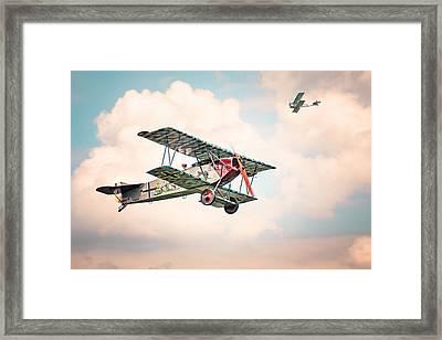 Golden Age Of Aviation - Fokker D. 7 - World War I Framed Print by Gary Heller