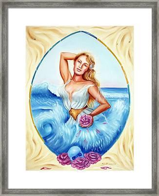 Golden Aphrodite Framed Print