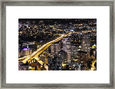 Framed Print featuring the photograph Golden Artery - Mcdxxviii By Amyn Nasser by Amyn Nasser
