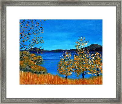 Golden Autumn Framed Print by Anastasiya Malakhova