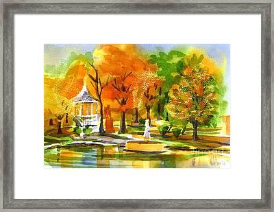 Golden Autumn Day 2 Framed Print