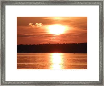 Golden Bay Framed Print by Kate Gallagher